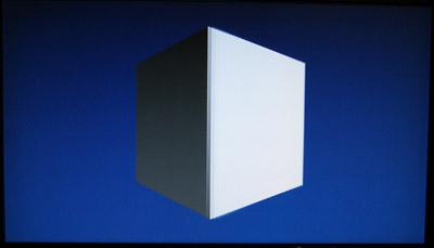Spinning Cube on Ouya